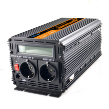 UPS + LCD Dispaly inverter 12v 220v 230v 1500w (peak 3000w) pure sine wave inverter converter