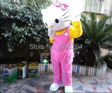 High quality of the adult size Hello Kitty mascot Costume cartoon garment delivery free of charge(China)