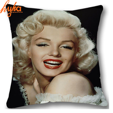 Hodgepodge Cushion Super Star Marilyn Monroe Audrey Hepburn Elvis TV Game Of Thrones Cushion Home Decorative Throw Pillow(China)