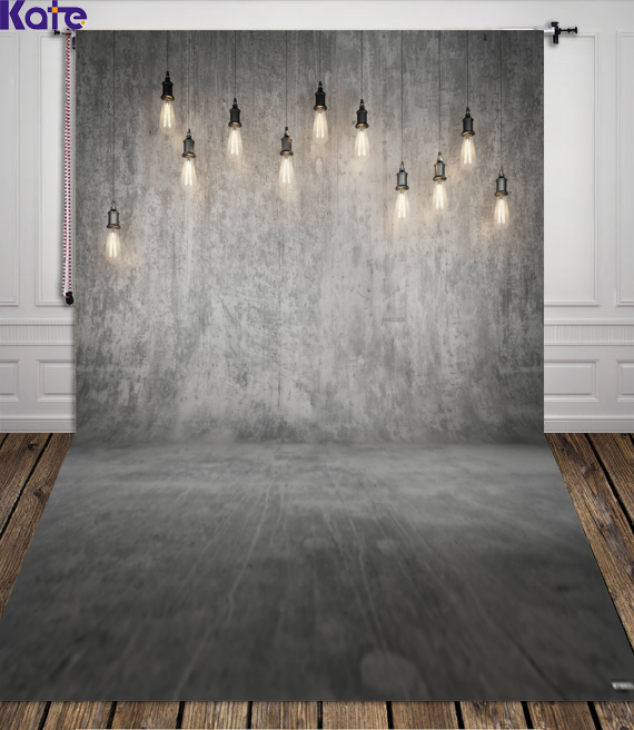 10X10FT Kate Solid Gray Photography Background Gray Wall Wedding Photo Backdrops Chandelier for fundo fotografico para estudio<br>
