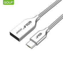 Buy GOLF 1m 3Ft Zinc Alloy Spring Micro USB Data Sync Charging Cable Xiaomi Redmi Note2 Samsung S6 S7 LG G3 G4 Fast Charger Wire for $3.23 in AliExpress store