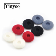Yinyoo 8 pair(16 pcs) Imports Ear Cotton Sponge Earmuffs Ear Cotton For Earbuds Earphone Earplug For VE Monks TY