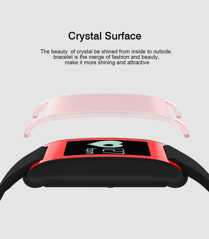 FREZEN Smart Bracelet DM68 Smart Band Fitness Sleep Activity Tracker Blood Pressure Oxygen Heart Rate Tracker For Android IOS 6
