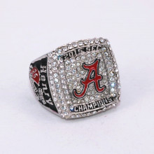 Size 6 To 15! 2016 New Arrival NCAA 2015 Alabama Crimson Tide Football National Championship Ring Replica Henry Drop Shipping