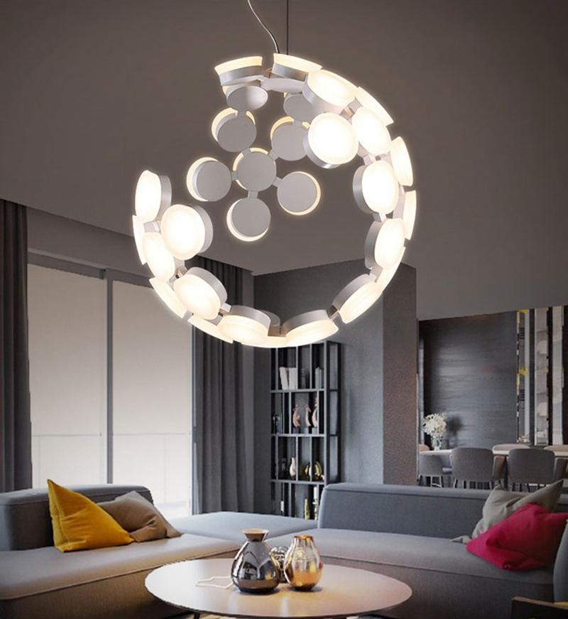 Horsten Nordic Postmodern Creative Pendant Light Art Decoration Personality Dining Room Pendant Lamp LED Hanging Lighting For Cafe Bar (2)