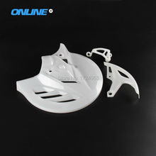 New 2015-17 Front and rear Brake Disc Rotor Guard Cover Protector Protection for 270mm brake disc CRF450 450 13-15 CRF250 14-15