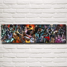 X-Men Marvel Comics Wolverine Cyclops Storm Movie Art Silk Poster Prints Home Wall Decor Painting 12x43 15x53 Inch Free Shipping