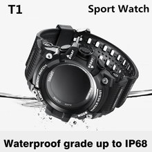 Buy Smart Watch T1 OLED Display Heart Rate Monitor IP68 Waterproof Push Message Call Reminder Android IOS Phone Sport smartwatch for $34.24 in AliExpress store