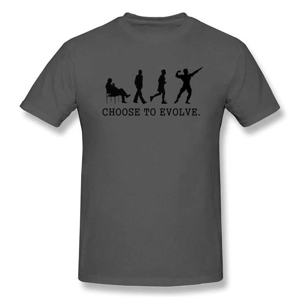 Choose to Evoe Tops Shirt Fashion O-Neck Printed Short Sleeve 100% Coon Fabric Student T Shirt Design Tee Shirts Choose to Evoe carbon