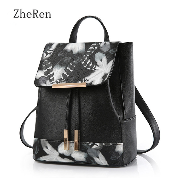 Exo Cover Real Mochilas Soft Handle Sale Softback Womens Backpack 2017 New Leisure Student Bag Leather-pu Double Stamp Ladies<br><br>Aliexpress