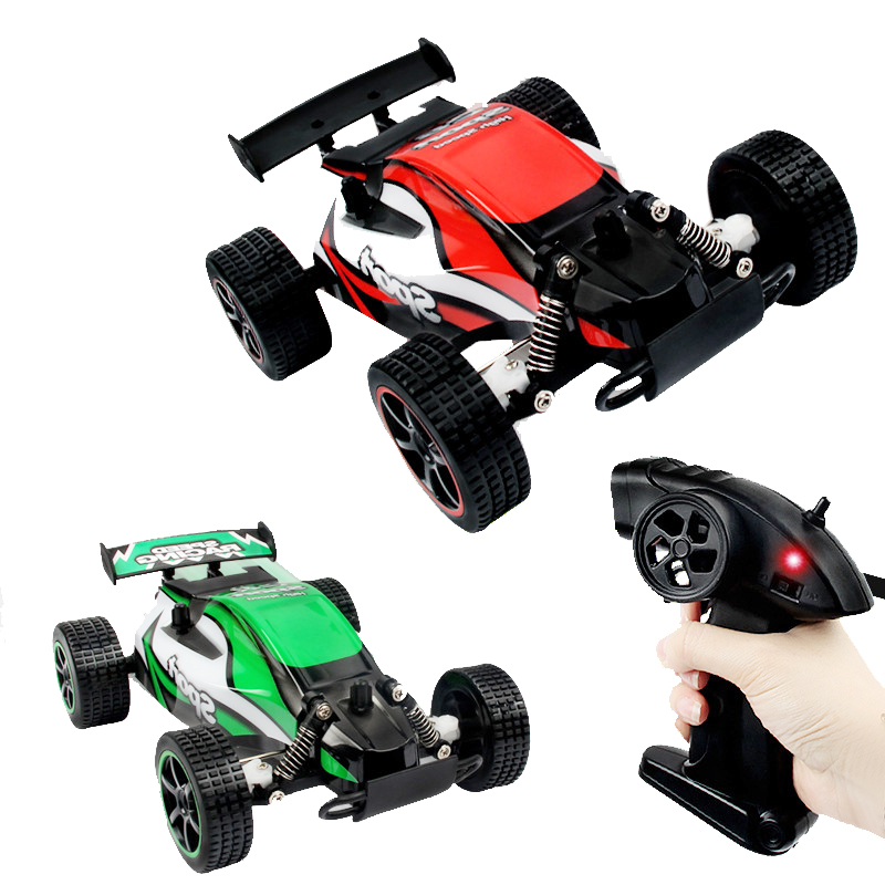 RC Car 2.4G F1 Off-Road Vehicles Desert Truck 2.4G 20km/h High Speed SUV Buggy Damping Remote Control Cars Toys Children Gifts(China (Mainland))