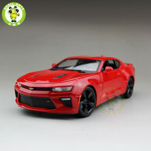 1/18 2016 Chevrolet CAMARO SS Diecast Model Car Maisto 31689 Red