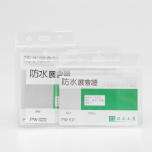 10 pieces price new waterproof exhibition card of the soft transparent chest card of the coat certificate of student ID card