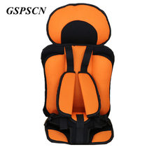 GSPSCN 1-12 Years Child Baby Toddler Car Safety Seats For Children Infant Baby Safety Chair Cushion Seat covers With Seat Belt(China)