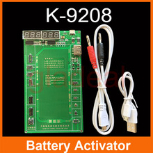 K-9208 Smart Phone  Activator  Repair Power Charger With USB Wire Cable For iPhone Samsung Battery Repairing Tools