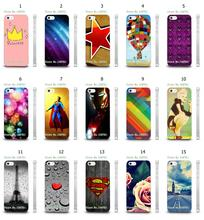 Mobile Phone Case Hot 1pc Superman Iron Man Star Hybrid Design Protective White Hard Case For IPHONE4 4S Free Shipping