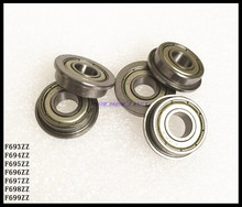 30pcs/Lot F693ZZ F693 ZZ 3x8x4mm Flange Bearing Deep Groove Ball Bearing Mini Ball Bearing Brand New