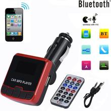 Bluetooth Car Kit MP3 Player FM Transmitter Wireless Radio Adapter USB Charger Drop shipping4.28/30%