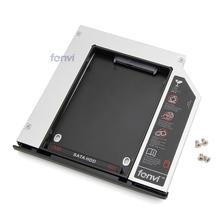 Fenvi SATA to SATA Hard Drive HDD Caddy Bay Adapter 9.5 mm SSD HDD Case Enclosure for HP EliteBook 2530p 2540p(China)