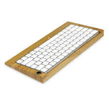 For apple iMac Bluetooth Wooden Keyboard Stand for Apple computer keyboard holder for IOS laptop frame free shipping