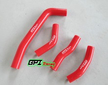 RED FOR Honda CRF250 CRF250R CRF 250R 2010 2011 2012 2013 silicone radiator hose 10 11 12 13(China)