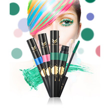 Women Colorful Mascara Mascara Beauty Makeup Tools for Thickening Lengthening(China)