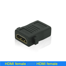 1080P Standard HDMI adapter extender female to female F-F coupler HDMI wire connector joiner converter Hdmi HD connector(China)