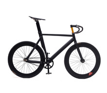 Fixed Gear Bike 53/55/58cm 700C Wheel Track Bicycle DIY Muscular Carbon Fiber Frame Bicicleta Customize(China)