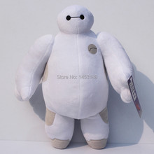 HOT! NEW 1PCS 7'' 18cm Big Hero 6 Baymax Plush ROBOT Chrismas Dolls Snowman Stuffed Animals Plush Baby Doll Toy - Big Discounts