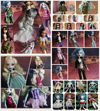 HOT PROMOTION Original Clothing Suits For Monster High Dolls 30Pcs= Dresses + Shoes + Bags + Hangers Fashion Doll Set BIG SALE