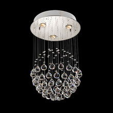 Crystal combination Modern circle low voltage crystal lamp crystal ball drops brief pendant light lighting Pendant Lights SJ73