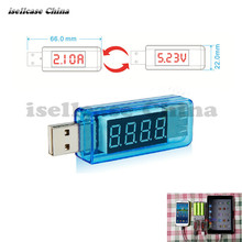 Free Shipping USB Charger Doctor Mobile Power Detector Battery Test Voltage Current Meter For iphone Maintenance phone