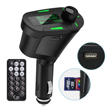 MAX Support 32GB SD Card FM Transmitter Music Digital MP3 Player Radio Green Color For Universal Car