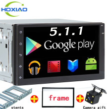 Android Quad Core 16G Car GPS android 5.1.1 Player 2 din radio New universal Navigation For Nissan series Wifi GPS (not dvd)