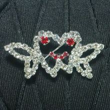 Dental clinic gift  Fashion imitation diamond brooch Badge Tooth Type