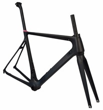 Most popular Nice style road carbon frame at factory price directly sale road carbon frame(China)