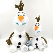 18.1inch High Quality Olaf Plush Kids Toys Snowman Cartoon Animation Plush Doll Boy & Girls Birthday Gift Doll Collection
