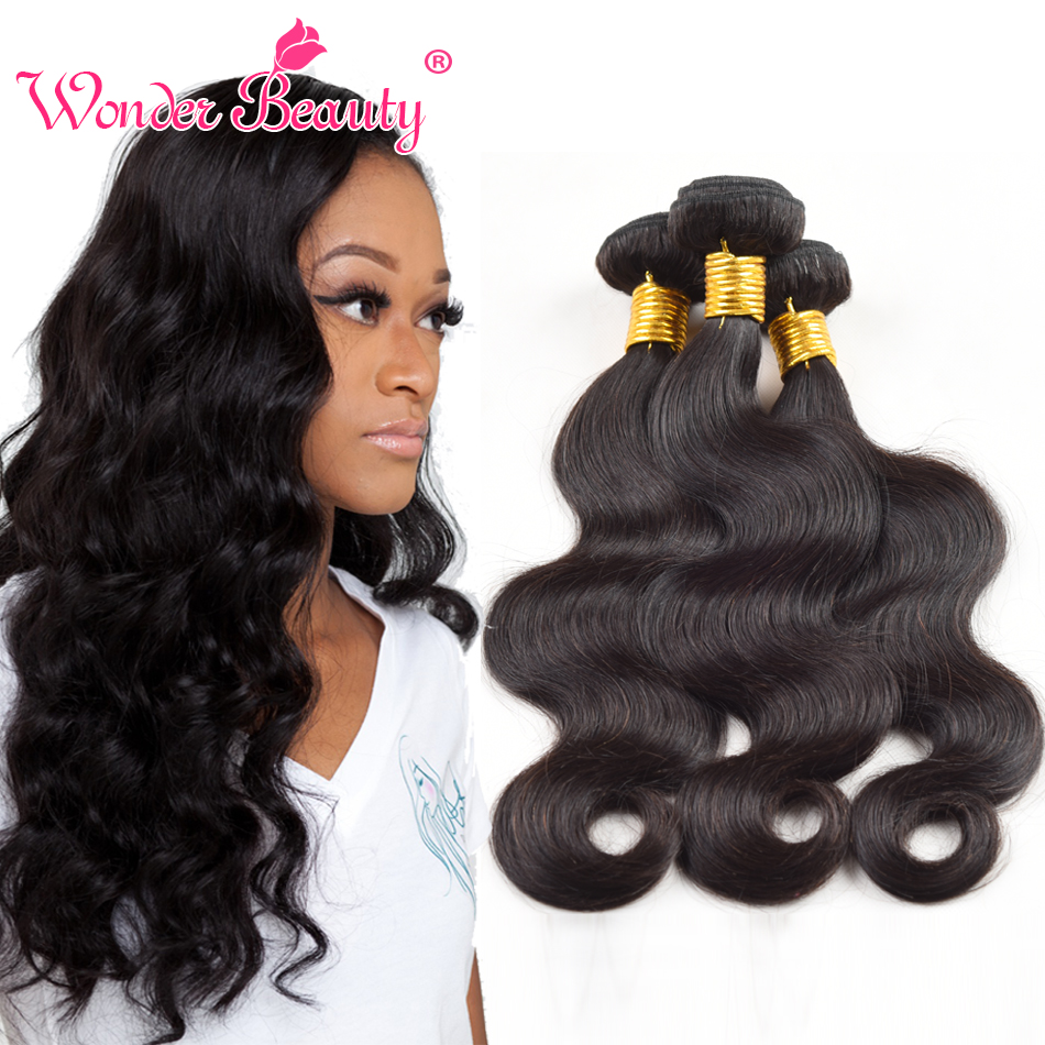 Indian virgin hair body wave 3pcs lot unprocessed human hair weaves cheap Indian body wave #1b Indian hair body wavy<br><br>Aliexpress