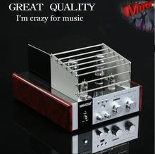 Music Hall Vacuum Tube Audio Power Amplifier Class A HiFi Stereo Hybrid AV Desktop Amp USB Support USB/SD Card Play