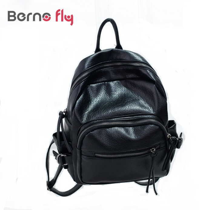 2017 New summer schoolbag washed leather backpack women Korean tidal fashion leisure travel bag solid tassel zipper bags<br><br>Aliexpress