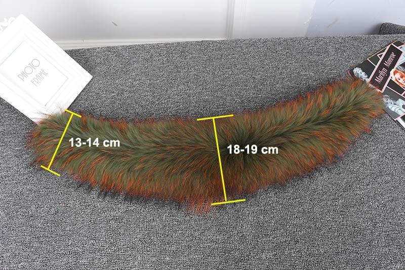 raccoon fur collar details 3