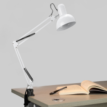 Homdox Desk Lamps Adjustable Arm Drafting Eyes Care Clamp Home Lighting Desk Lamp Light(China)