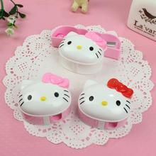Free shipping Kawaii Hello Kitty head Pencil Sharpener Cutter Knife Bow Eraser Promotional Gift Stationery