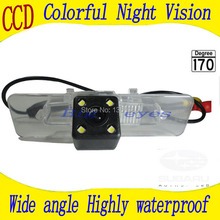 Free shipping HD CCD with 4 LEDs Car Rear View Reverse back up Camera for Subaru Legacy(China)