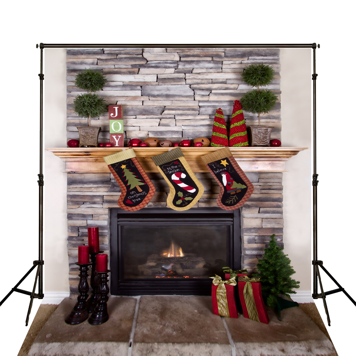 New Children Bedroom Is Real Merry Christmas Photocall Photography Photo Booth Background Photo Backdrop<br><br>Aliexpress