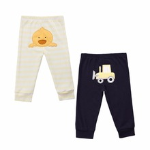 Baby Pants Comfortable Autumn and winter Girls Boys Baby Clothing High quality 100% Cotton Narrow leg bottoming Harlan pant(China)