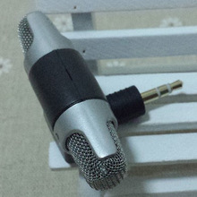 Handheld Microphone 10pcs/lot NEW Electret Condenser 3.5mm Stereo Mini Microphone for Sony ECM-DS70 For Universal Computer