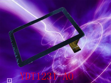 Newman T10 10.1inch YDT1231-A0 BLACK  PC Capacitive touch screen panel glass digitizer