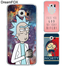 DREAMFOX L349 Rick And Morty Soft TPU Silicone Case Cover For Samsung Galaxy Note S 3 4 5 6 7 8 9 Edge Plus Grand Prime(China)