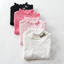 high quality cotton sweaters 2016 New winter autumn girls  sweater children sweaters children outerwear sweater 2 years C1258